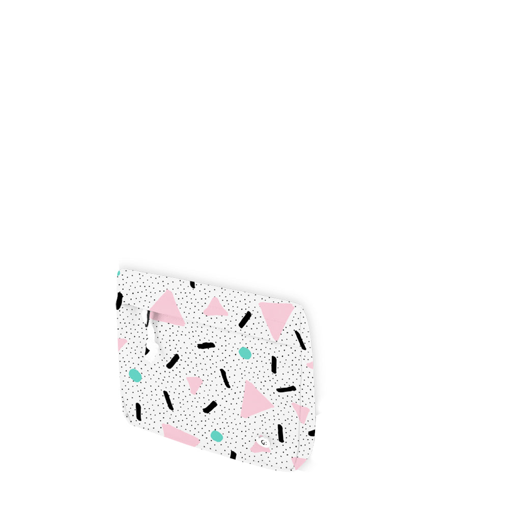 DREAMY Pink Triangle Multi-Purpose Bag