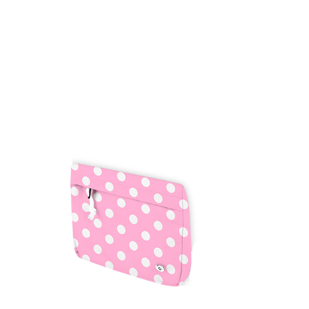 DREAMY Pink Polka Multi-Purpose Bag