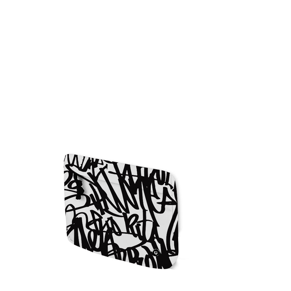 MONO Black Graffiti Front Pocket