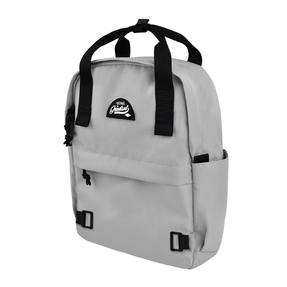 "CARA 13"" Backpack in MONO Grey with Coin Pouch"