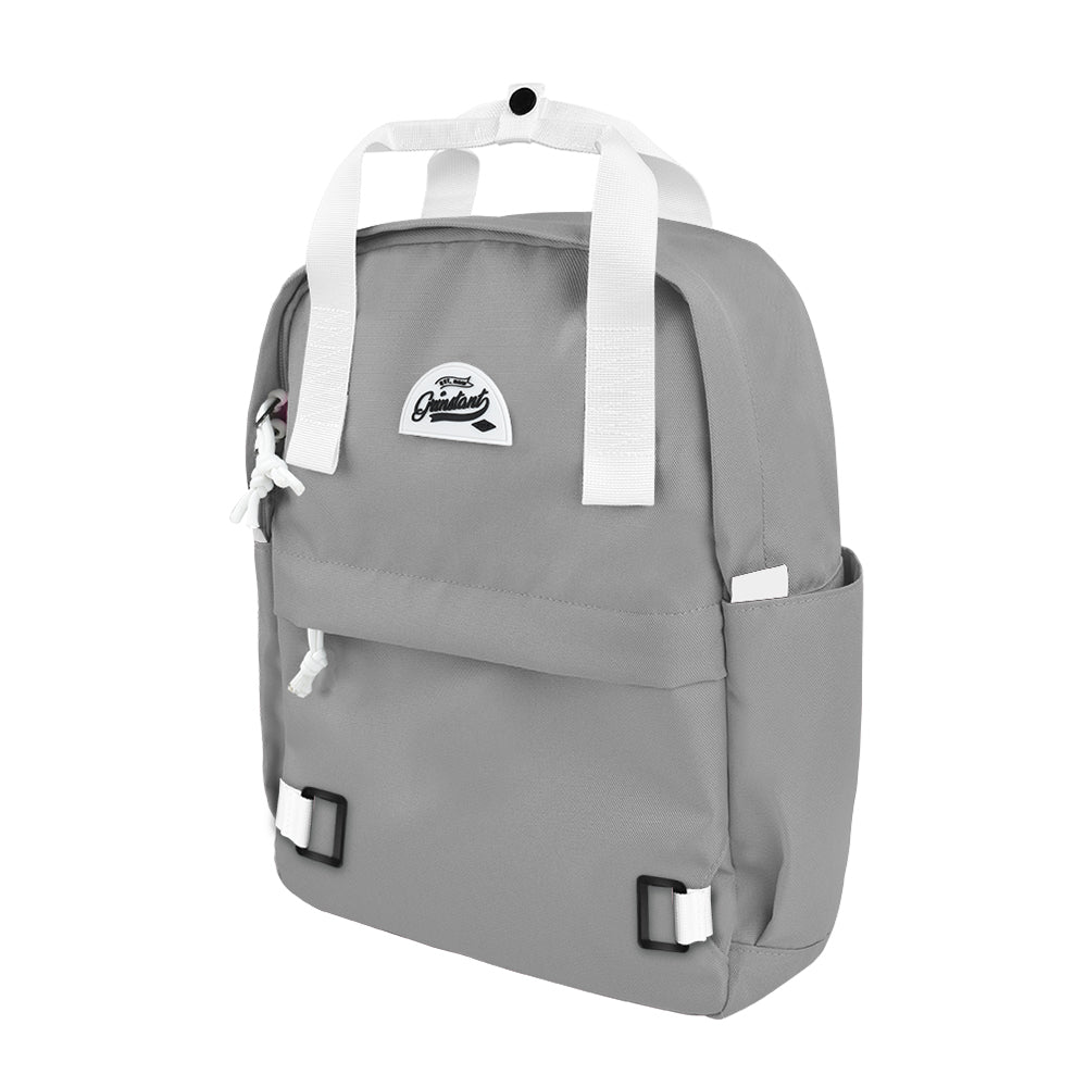 "CARA 13"" Backpack in DREAMY Light Grey with Coin Pouch"