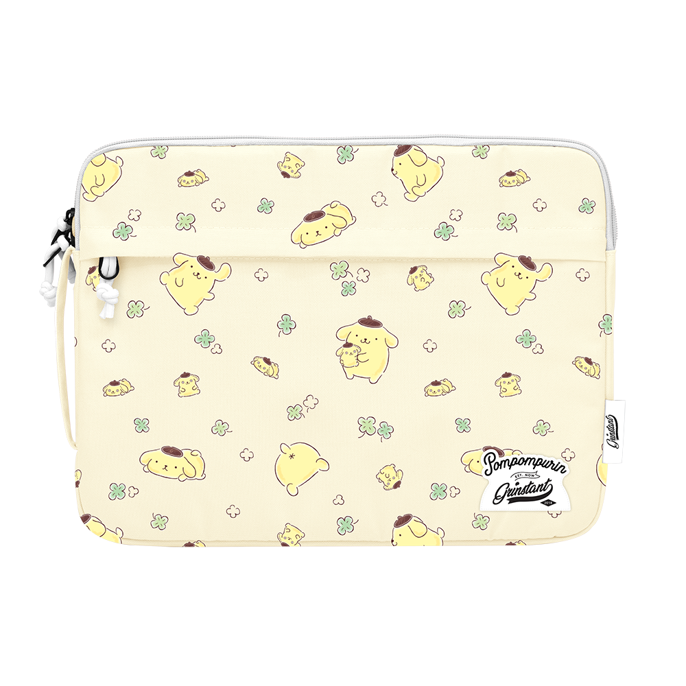 "SANRIO EDITION 13"" MACBOOK SLEEVE IN POMPOMPURIN OVERPRINT"