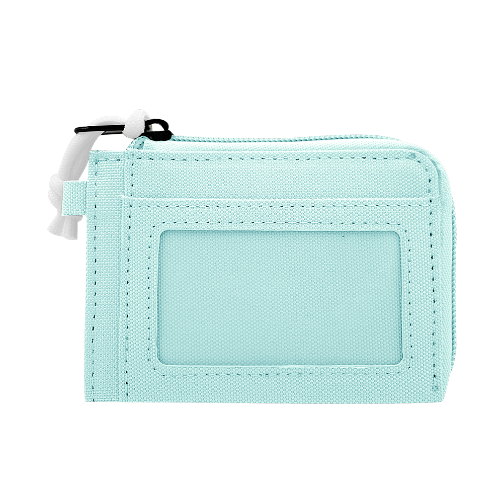 CARA Coins Wallet in DREAMY Light Blue/Light Grey