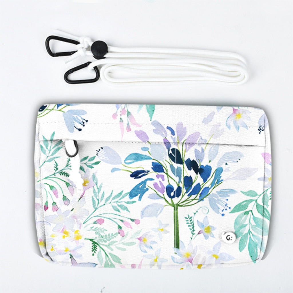 DREAMY Watercolor Floral Multi-Purpose Bag