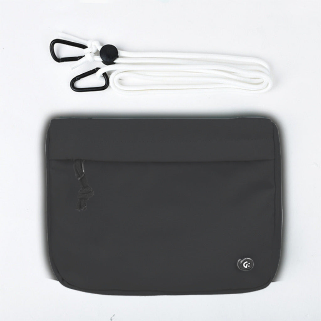 MONO Black Front Pocket