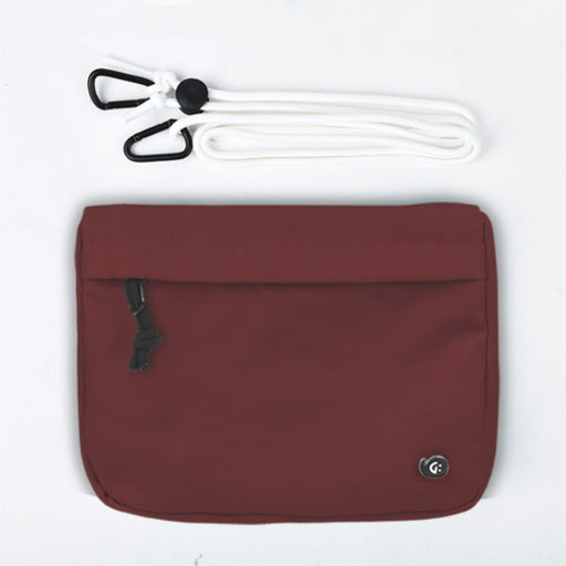 ADVENTURE Dark Red Front Pocket