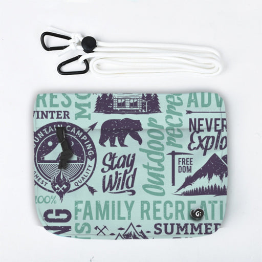 ADVENTURE Camp Typo Front Pocket