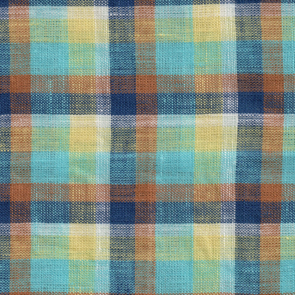 Linen Multi-Color Check