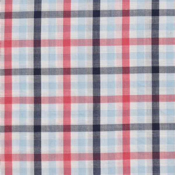 Cotton/Linen Multi-color Check