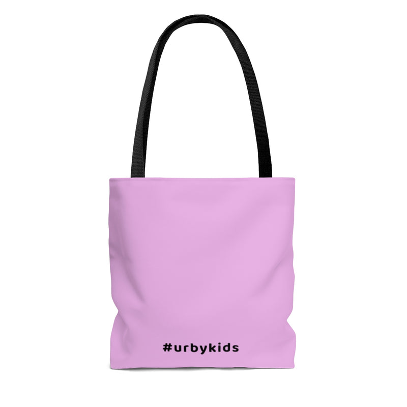 Youtube Shop Read Repeat Tote - Pink