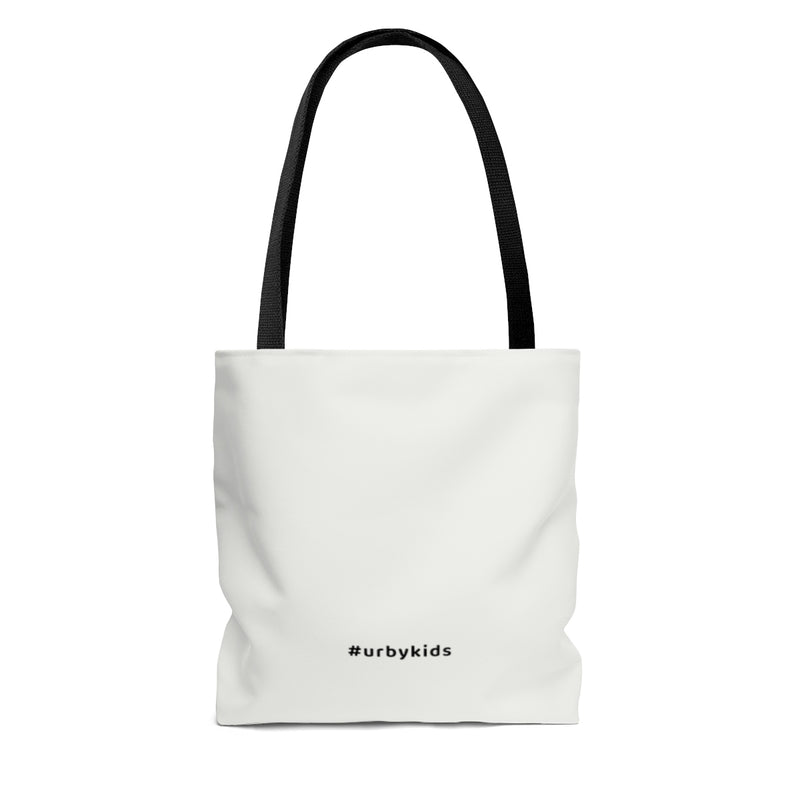 Youtube Shop Read Repeat Tote - White