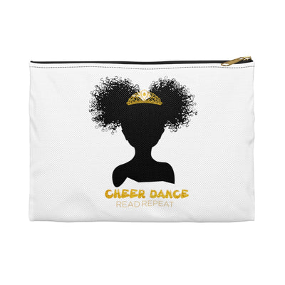 Cheer Dance Read Repeat: Gold Pencil Case