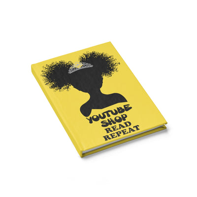 Urby Kids Journal Ponytails- Yellow