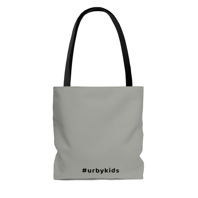 Youtube Shop Read Repeat Tote - Grey