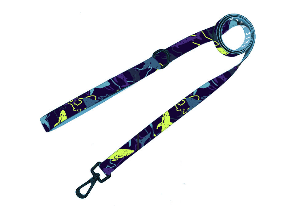 Seaside Shark Comfort Leash - Pomskie Pack Supply