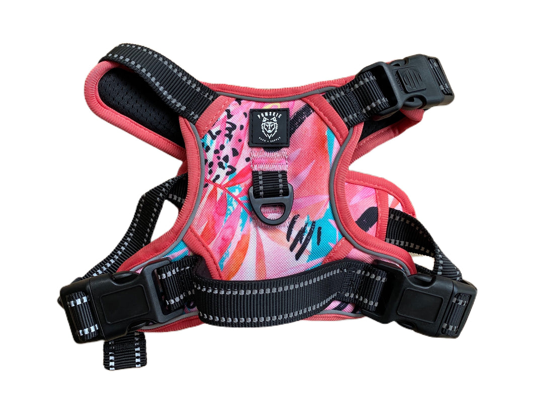 Coastal Coral Cooling Harness - Pomskie Pack Supply