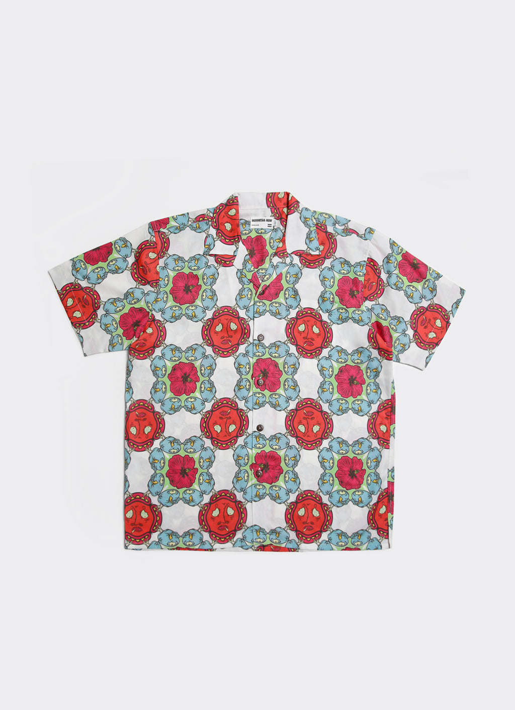 Blue & Red Uji Hahan Shirt