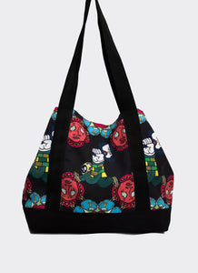 Black Uji Hahan Tote Bag