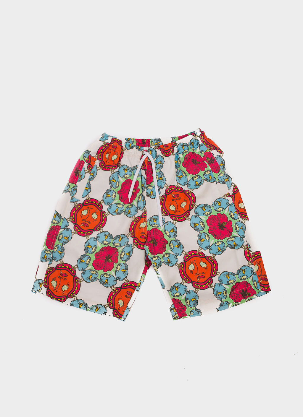 Blue & Red Uji Hahan Shorts