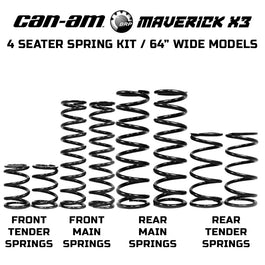 Can-Am Maverick X3 Max X DS Spring Kit (2017-2019)