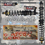 Can-Am Maverick X3 X RS 2 SEAT EXIT Shocks 2.5 X2 Series (2017-2020)