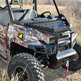 Polaris Ranger XP Stealth Hood Rack with Covert Front Bumper