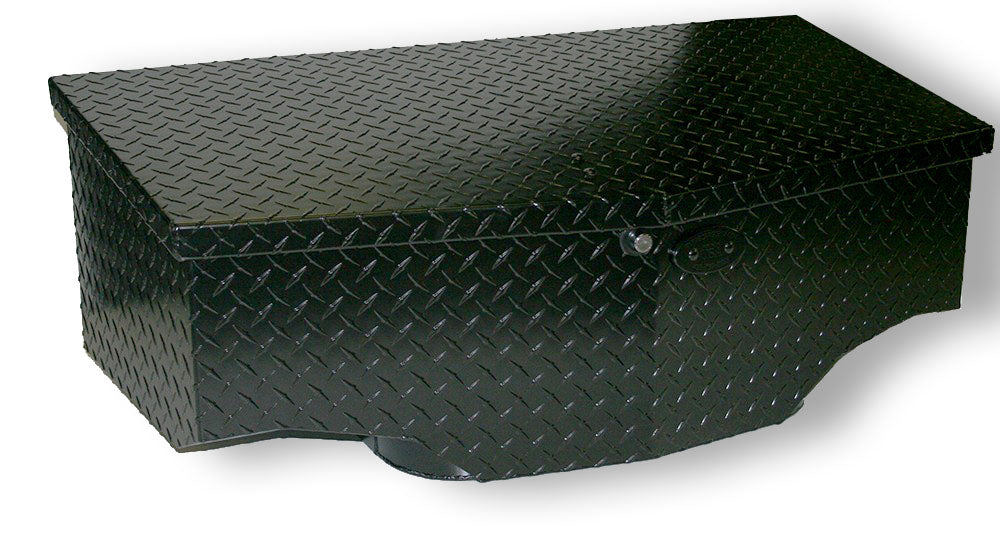Polaris RZR XP Turbo Ryfab Black Cargo Box (2017-2020)