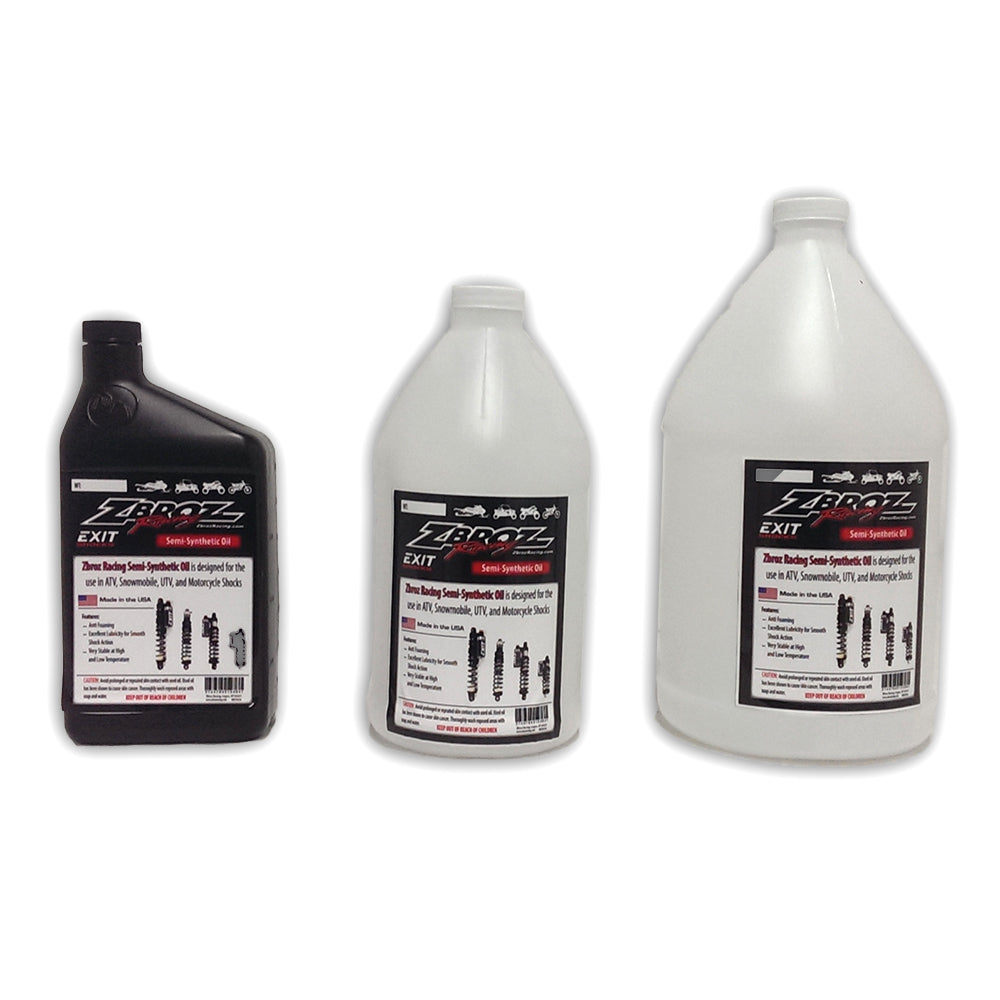Zbroz Racing Semi-Synthetic Shock Oil