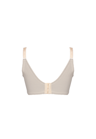 Beige Underwire Shaper Bra - Push Up Bra - Plus Size Bra 11268