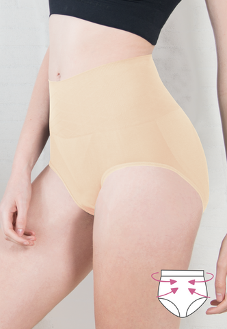 Mid Waist Slim Wear Briefs - Moderate Control