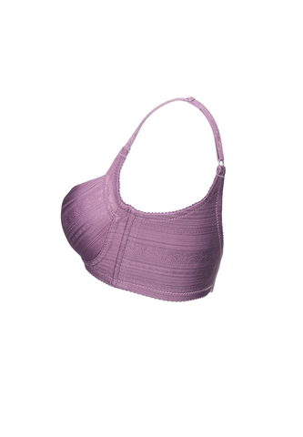Purple Underwire Shaper Bra - Push Up Bra 15065