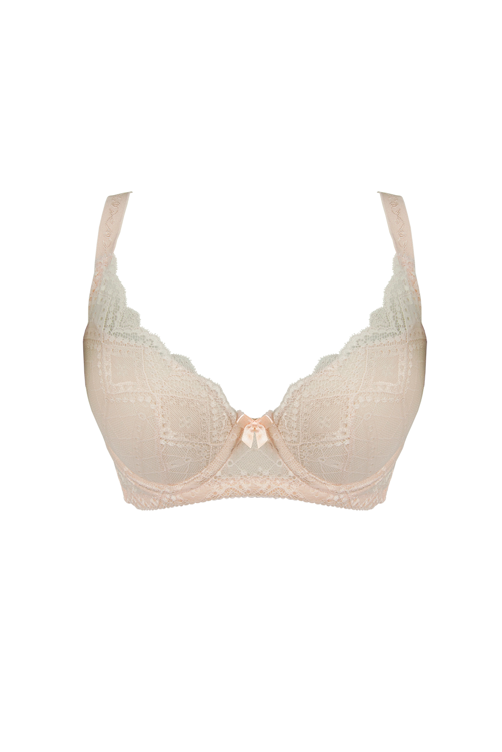 Peach Underwire Shaper Bra - Push Up Bra 18018