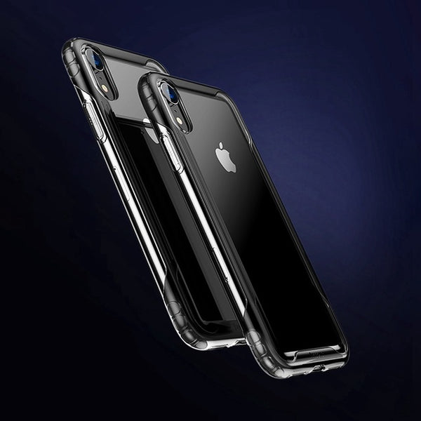 Baseus Sport Armor Case For iPhone Xs Max Transparent Soft Silicone Anti Knock Phone Cover For iPhone Xs Xs Max XR 2018 Cases