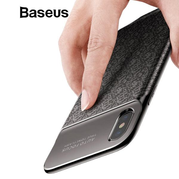 Baseus 3500mAh Battery Charger Case For iPhone X Power Bank Charging Case Ultra Thin Powerbank Charger Case for iPhone X
