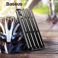 Baseus Armor Case For iPhone Xs Max XR 2018 Soft Silicone Plastic Hybrid Phone Case For iPhone Xs Max XR Cover