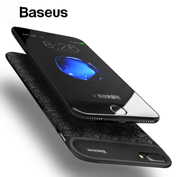 Baseus 5000mAh/7300mAh Battery Charger Case For iPhone 7 8 Ultra Thin Power Bank Case For iPhone 7 Plus 8 Plus Charging Case