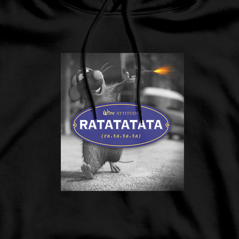 "SWEAT-SHIRT CAPUCHE | ""RATATATATA"" !"