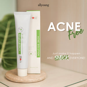 【BUY 1 FREE 1】Swissvita Acne Solution Skin Balancing Serum (50g)