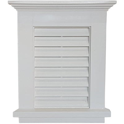 Small Louvered Gable Vent