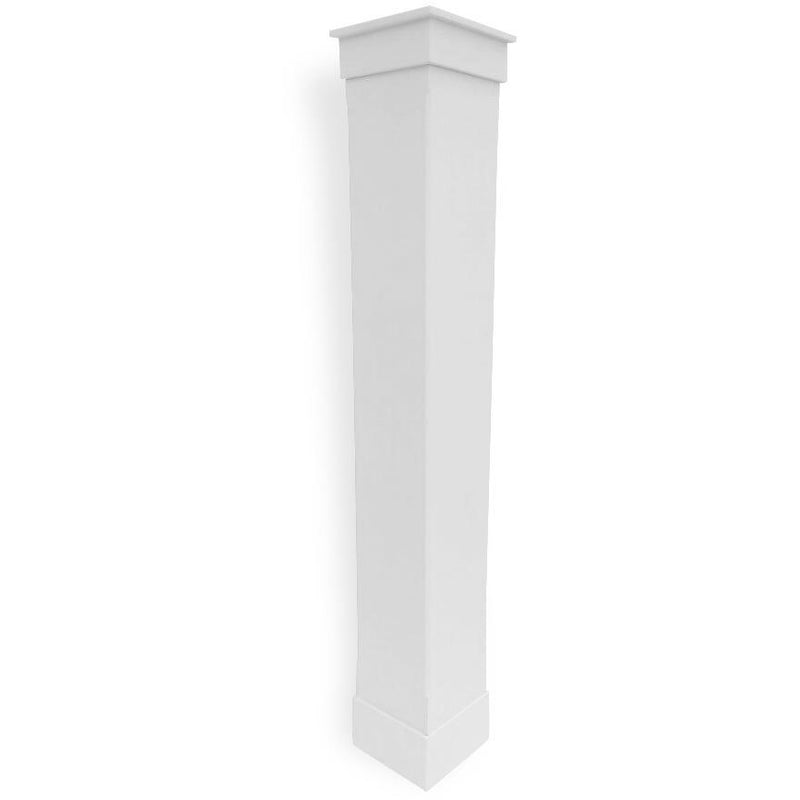 Plain Column with Chamferred Edge