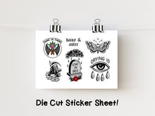 "Load image into Gallery viewer, 4x6"" Die Cut Sticker Sheet"