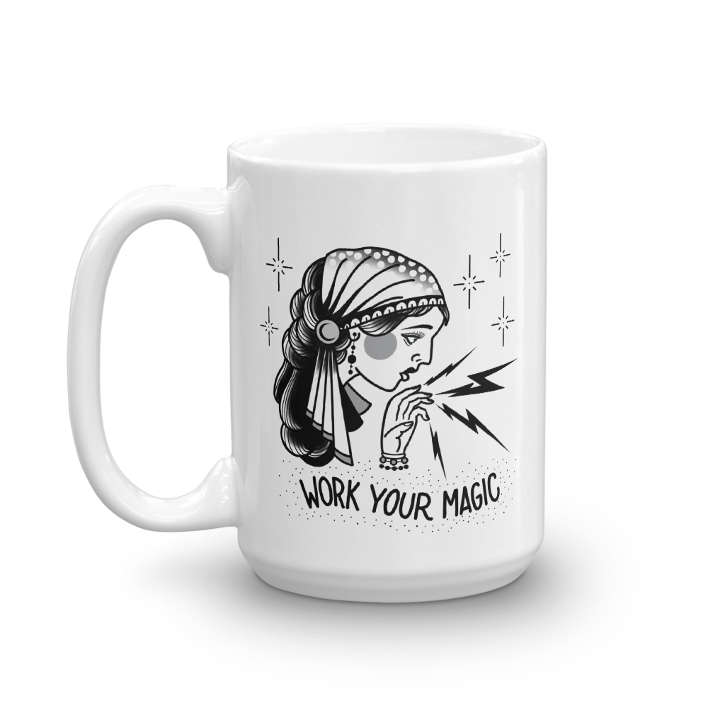 Work Your Magic Coffee Mug