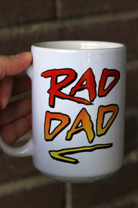 Rad Dad Coffee Mug