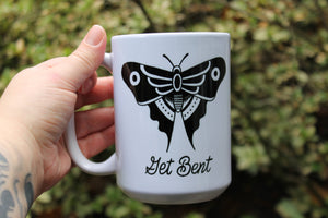 Get Bent Coffee Mug