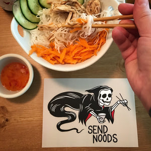 "5x7"" Send Noods Art Print"