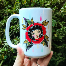 Load image into Gallery viewer, Rose Lady Coffee Mug
