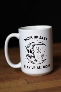 Skull Moon Coffee Mug