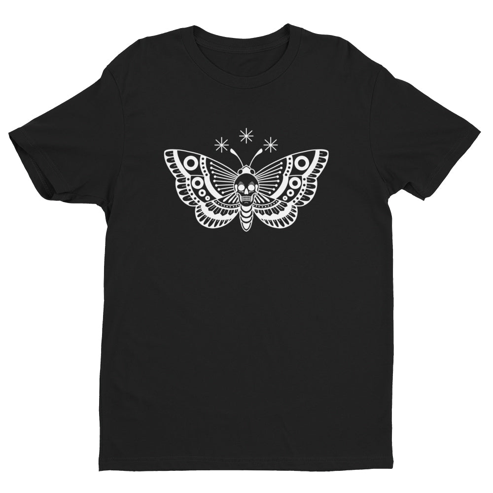 Death Head Moth T-Shirt - Black