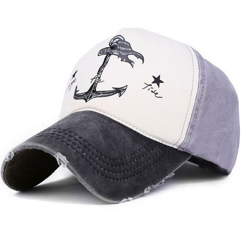 Change The Tide Distressed Hat Black/Grey