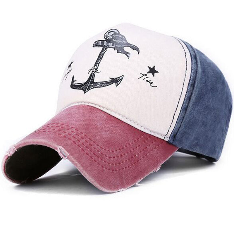 Change The Tide Distressed Hat Red/Blue